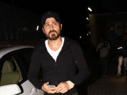 Emraan Hashmi with family SPOTTED at PVR, Juhu