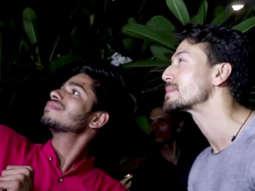 INJURED Tiger Shroff's Sweet Gesture towards FAN at Punit Malhotra's house