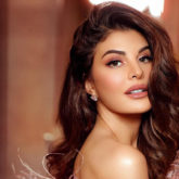 Jacqueline Fernandez does a handstand and it makes us wonder if she has any bones!