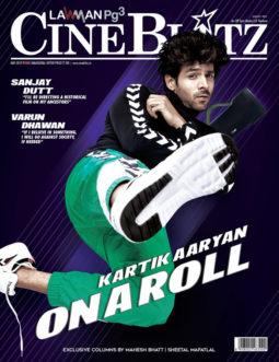 Kartik Aaryan On The Cover Of Cineblitz