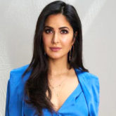 Katrina Kaif looks like a breath of fresh air in an all-blue Michelle Mason outfit for Bharat promotions