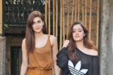 Kriti Sanon SPOTTED with her sister at Aram Nagar Versova