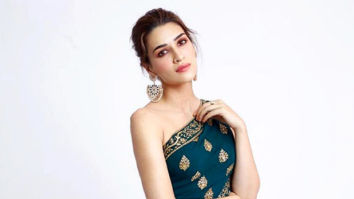 Kriti Sanon looks aesthetically radiant in this Monisha Jaising new-age saree