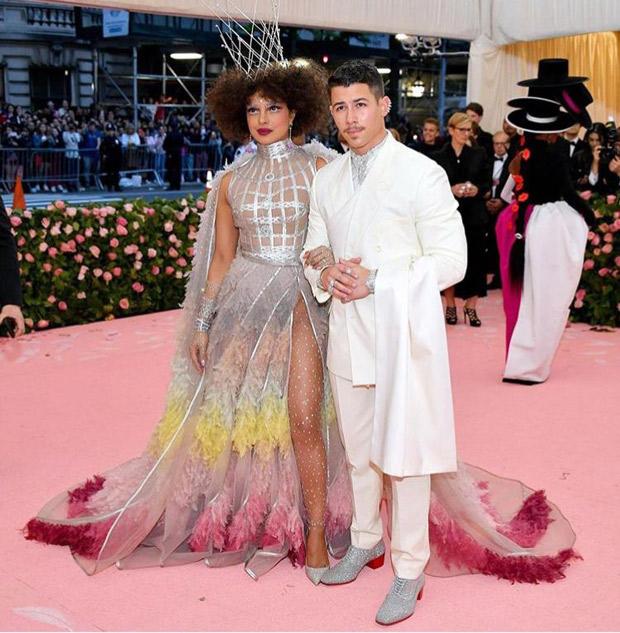 MET Gala 2019 Priyanka Chopra Jonas and Nick Jonas