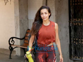 Malaika Arora spotted at the Pilates gym in Khar