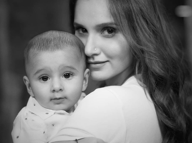 PHOTO ALERT: Sania Mirza strikes a pose with her baby boy Izhaan in a stunning shoot