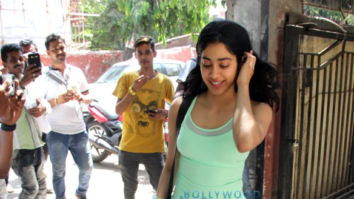 Photos: Janhvi Kapoor, Malaika Arora and Georgia Andriani spotted at the Pilates gym in Khar