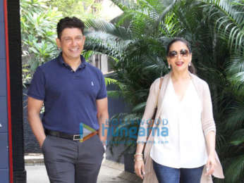 Photos: Madhuri Dixit and Sriram Nene spotted in Bandra