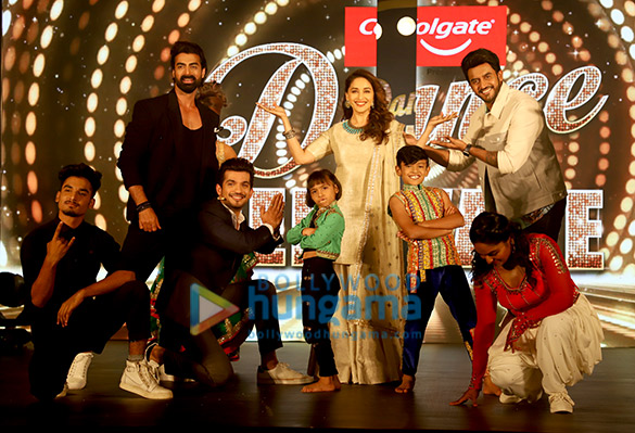 Photos: Madhuri Dixit snapped on the sets of Dance Deewane