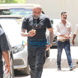 Photos: Sanjay Dutt spotted at Vishesh Films' office