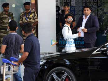 Photos: Shahid Kapoor, Sanya Malhotra, Alia Bhatt and others snapped at the airport