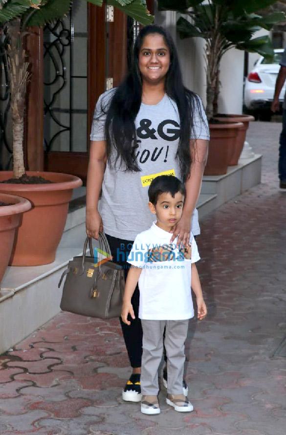 Photos: Shilpa Shetty and Raj Kundra snapped celebrating their son Viaan Raj's birthday