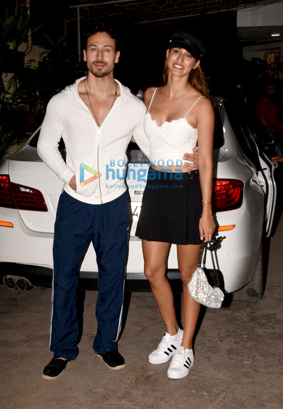Photos: Tiger Shroff and Disha Patani snapped at Sunny Super Sound for special screening of Student Of The Year 2
