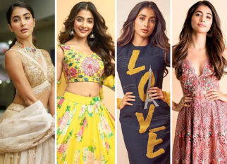 Pick your favorite look on Pooja Hegde from the promotions of Maharshi