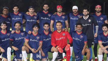 Ranbir Kapoor and Abhishek Bachchan's football team slays the television stars in a fun match