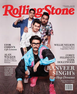 Ranveer Singh On The Cover Of Rolling Stone
