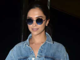 SPOTTED Deepika Padukone at Mumbai Airport flying to Dubai