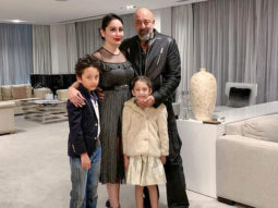 Sanjay Dutt manages a quick European getaway with family
