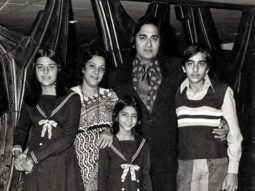 Sanjay Dutt shares a throwback picture from his childhood days with family