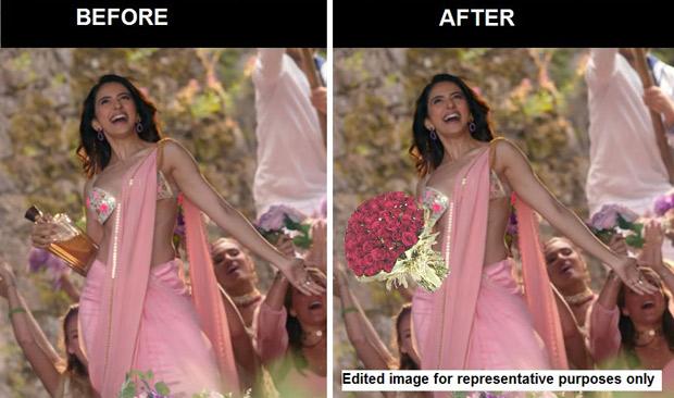 SHOCKING: Sanskaari CBFC at it again; REPLACES Rakul Preet Singh's alcohol bottle with FLOWERS in De De Pyaar De?
