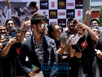 Shahid Kapoor, Kiara Advani, Sandeep Reddy Vanga grace the trailer launch of Kabir Singh