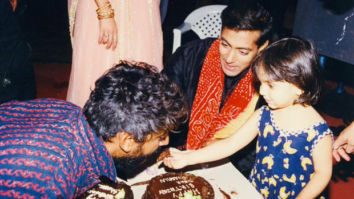 THROWBACK: Salman Khan shares an old photo with Sanjay Leela Bhansali's niece Sharmin Segal after Malaal trailer launch
