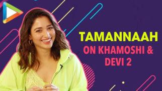 Tamannaah on Khamoshi, Devi 2 & Love for Poetry Heartbreak helps You GROW as Person