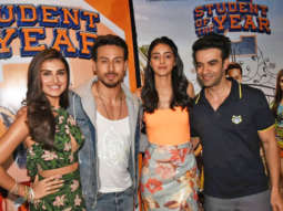 Tiger Shroff, Tara Sutaria, Ananya Panday and Punit Malhotra at SOTY-2 Promotions