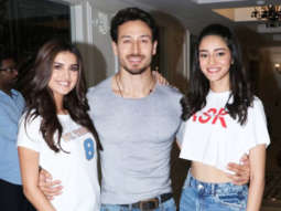 Tiger Shroff, Tara Sutaria & Ananya Pandey visit Le Reve Cinemas in Bandra for Public Reactions SOTY 2