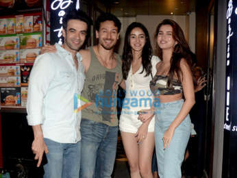 Tiger Shroff, Tara Sutaria and Ananya Panday grace Punit Malhotra's birthday party in Bandra