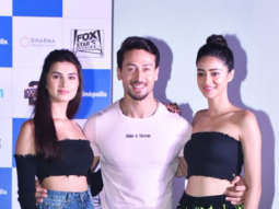 Tiger Shroff, Tara Sutaria and Ananya Pandey SPOTTED at JW Marriott, Juhu