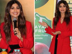 UNCUT Shilpa Shetty at launch of ITC's B-Natural fruit beverage