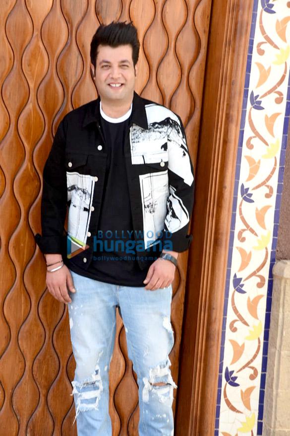 Varun Sharma snapped at 'Bollywood Bazinga' show launch (6)