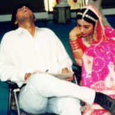 Way back Wednesday Ajay Devgn shares an old picture with Tabu and it is literally depicting our Wednesday mood!