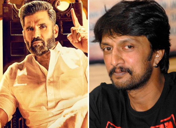 This FIRST LOOK of Suniel Shetty from his Kannada debut Pailwan is winning hearts -including that of co-star Kichcha Sudeep!
