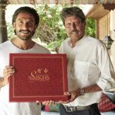 '83: Ranveer Singh receives a special gift from Kapil Dev
