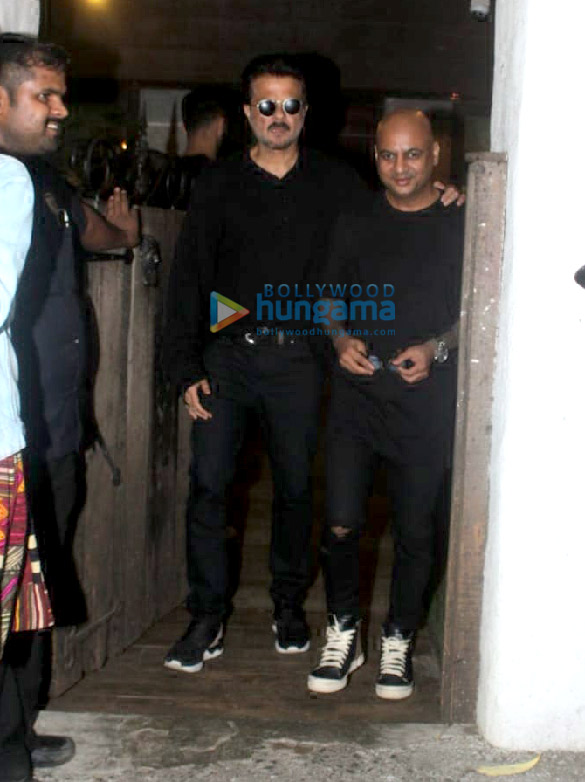 Anil Kapoor snapped at Hakim's Aalim