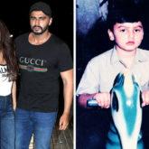 Arjun Kapoor shares a childhood photo of him riding a toy horse, Malaika Arora calls him 'grumpy'