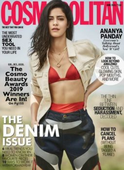 Ananya Panday On The Covers Of Cosmopolitan