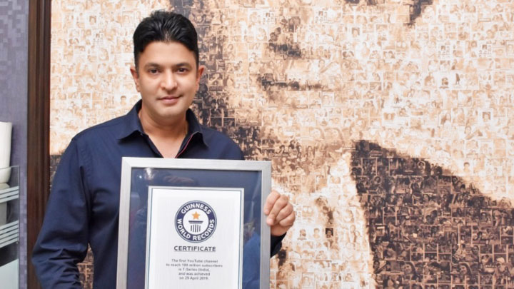 Emotional Bhushan Kumar On T-Series Becoming World's Biggest YouTube Channel