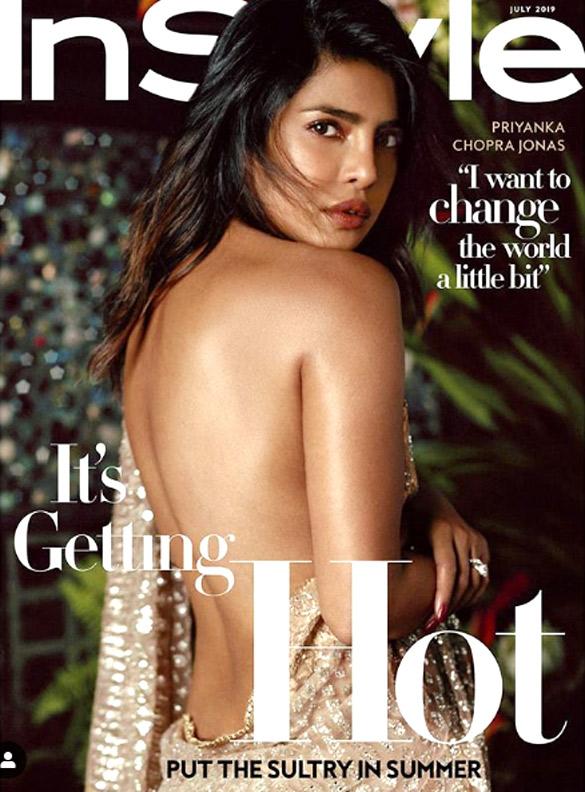 Priyanka Chopra Jonas On The Cover Of InStyle