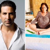 International Yoga Day 2019 Akshay Kumar is a proud son as he shares a photo of his mother doing yoga at 75g yoga at 75