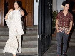 Janhvi Kapoor & Ishaan Khatter SPOTTED at Khar