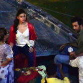 LEAKED PHOTOS & VIDEO: Alia Bhatt and Ranbir Kapoor take a boat ride while shooting in Varanasi for Brahmastra