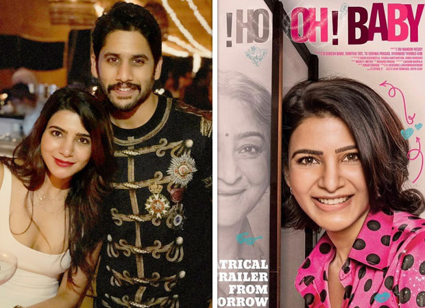 Oh! Baby: Samantha Akkineni and Naga Chaitanya have the CUTEST chat on Twitter over this trailer