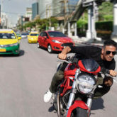 PHOTO: Akshay Kumar shoots bike stunts on the streets of Bangkok for Rohit Shetty's Sooryavanshi