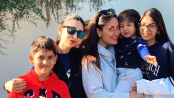 PHOTOS: Karisma Kapoor and her kids Samaira and Kiaan Raj join Kareena Kapoor Khan and Taimur All Khan in London