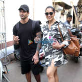 Photos: Bipasha Basu and Karan Singh Grover snapped in Bandra
