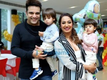 Photos: Celebs grace Krishna Abhishek's son's birthday party