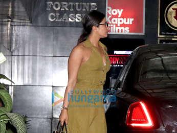 Photos: Priyanka Chopra Jonas spotted at Siddharth Roy Kapur's office in Khar